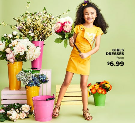 Girls Dresses From $6.99 from Rainbow