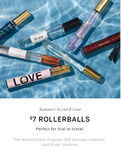 $7 Rollerballs from Victoria's Secret