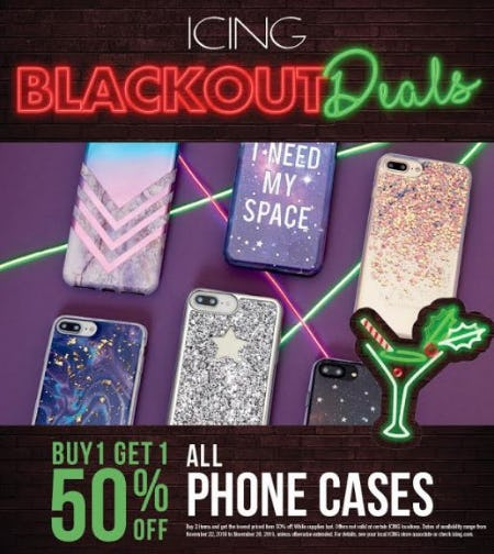 Your phone gets a Blackout Deal! from icing