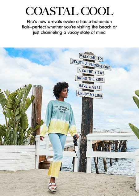 Coastal Cool from Neiman Marcus