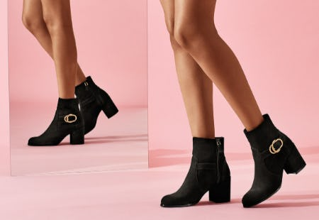 The New Double Buckle Benedicta Bootie from STUART WEITZMAN