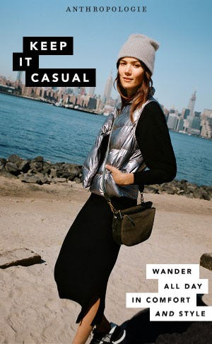 Keep It Casual from Anthropologie