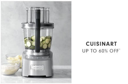 Up to 60% Off Cuisinart from Williams-Sonoma