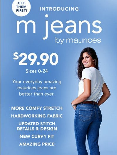 Introducing: M Jeans by Maurices from maurices