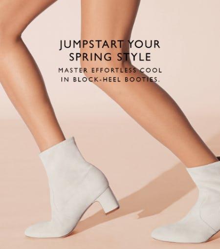 New Block-Heel Booties