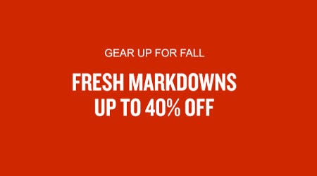 Fresh Markdowns Up to 40% Off from Finish Line