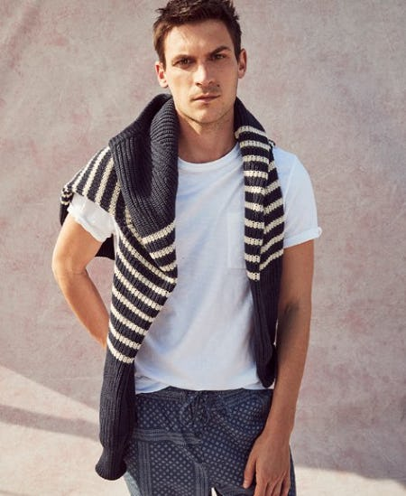 Discover the New Striped Cotton Sweater from J.Crew