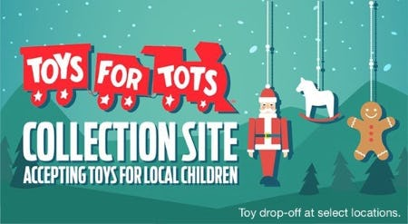 Toys For Tots from Ashcroft & Oak Jewelers