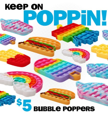 $5 Bubble Poppers from Five Below