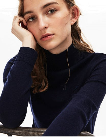 Layer On New Sweaters from Lacoste