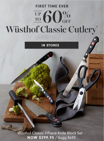 Up to 60% Off Wusthof Classic Cutlery from Williams-Sonoma