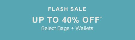 Up to 40% Off Select Bags & Wallets from Fossil