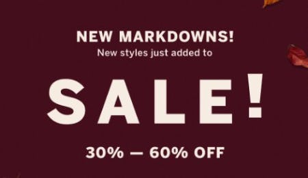 New Markdowns 30%-50% Off from Victoria's Secret