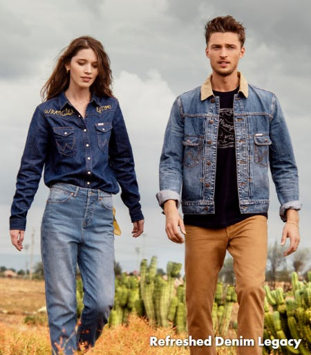 Refreshed Denim Legacy from Wrangler