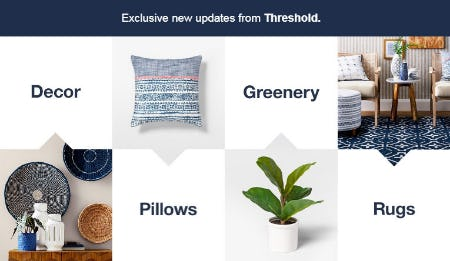 Exclusive New Updates from Threshold from Target