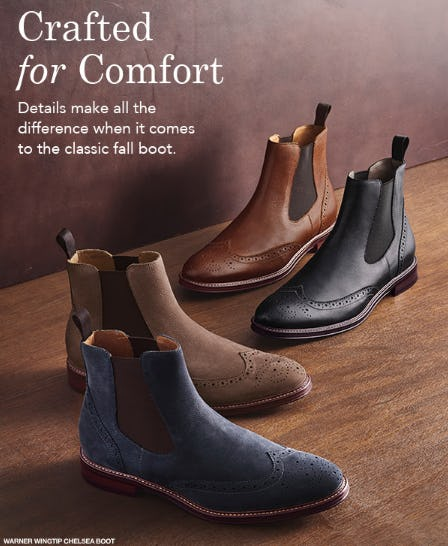 Crafted for Comfort from JOHNSTON & MURPHY