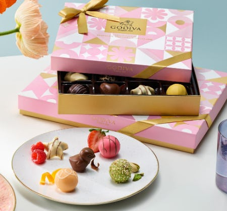 NEW Spring Collection from Godiva Chocolatier