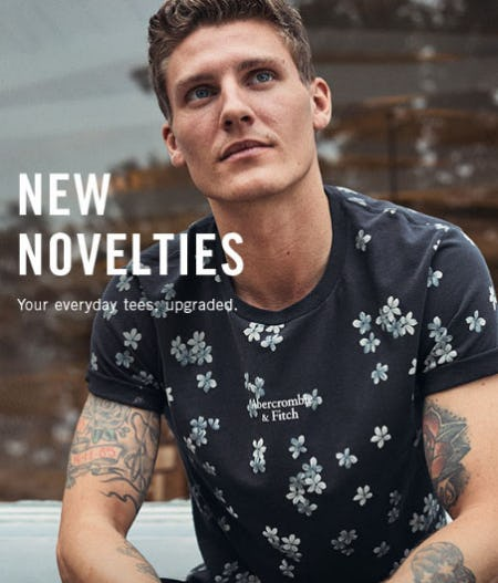 New Novelties from Abercrombie & Fitch