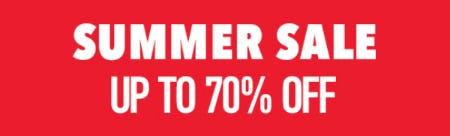 Summer Sale: Up to 70% Off