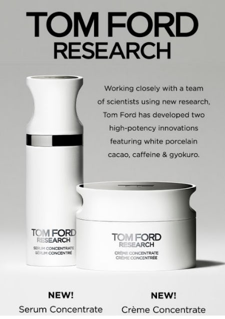 Tom Ford Skincare Has Arrived from Blue Mercury