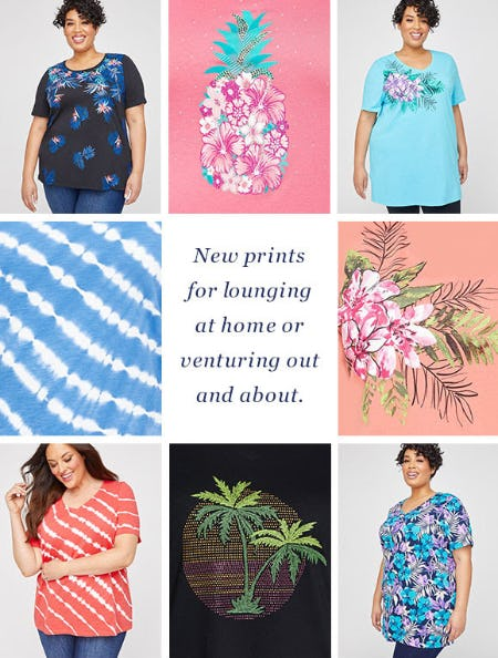 Explore New Prints from Catherines Plus Sizes