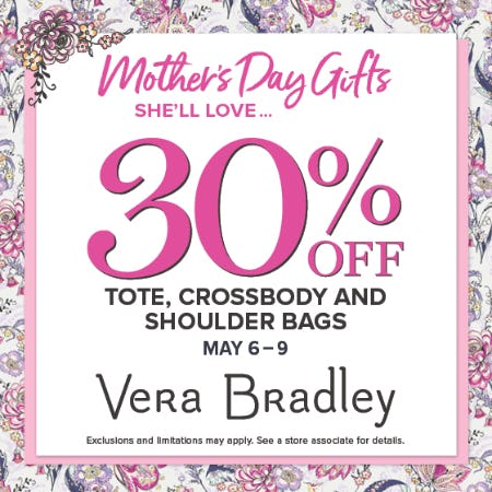 Mother's Day Gifts She'll Love ... from Vera Bradley