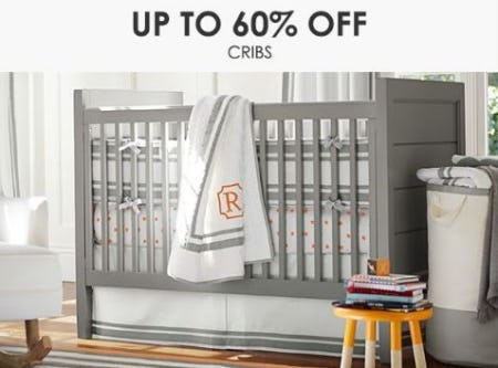 Up to 60% Off Cribs