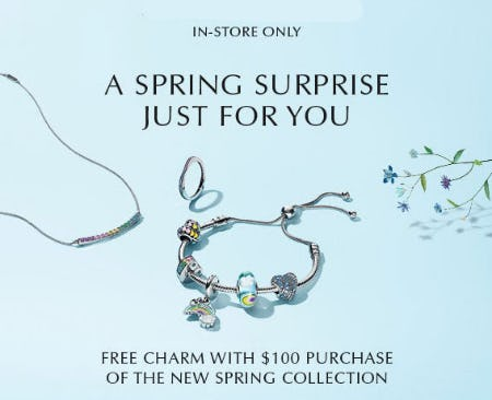 Free Charm with $100 Purchase from Jared Galleria Of Jewelry