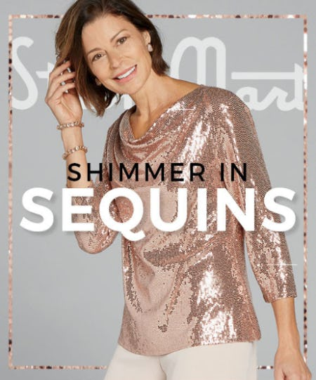 Shimmer in Sequins from Stein Mart