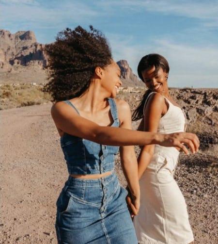 Denim in the Desert from AG Jeans
