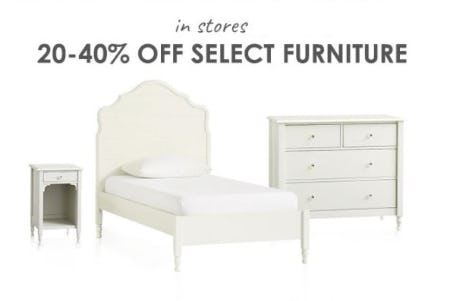 20–40% Off Select Furniture from Pottery Barn Kids