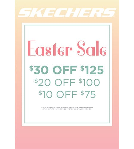 SKECHERS EASTER SALE