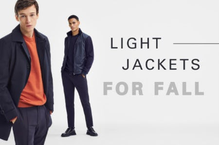 Light Jackets for Fall from Hugo Boss