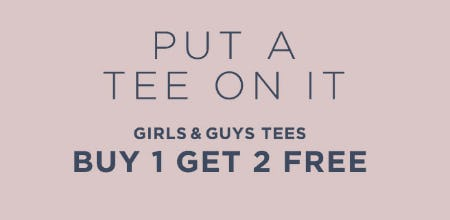 B1G2 Free Tees from Aéropostale