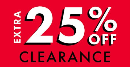 Extra 25% Off Clearance from DSW Shoes