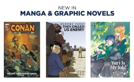 New Manga & Graphic Novels from Books-A-Million