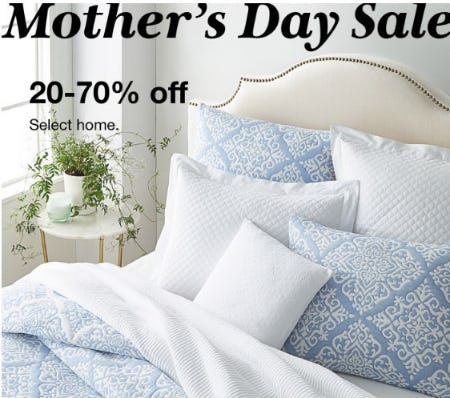 Mother's Day Sale: 20-70% Off Select Home from macy's