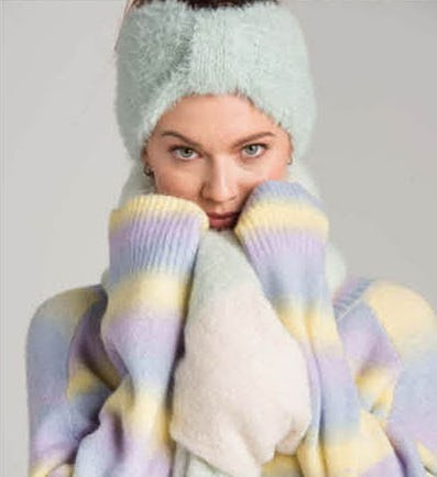 Cozy Up in Winter Accessories from Stein Mart