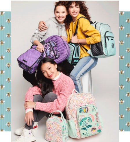 Make Her New School Year Memorable with Custom Designs from Vera Bradley