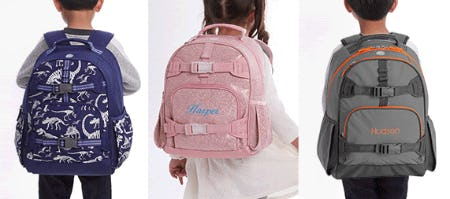 Kid-Approved Backpacks from Pottery Barn Kids
