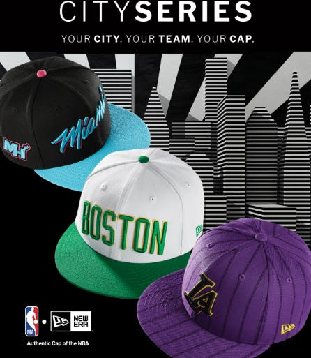 The NBA City Series Collection from Lids