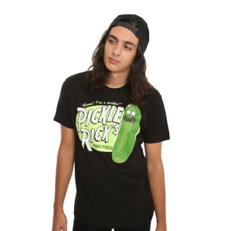 Rick & Morty Pickle Rick's T-Shirt
