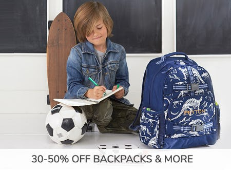 30-50% Off Backpacks & More
