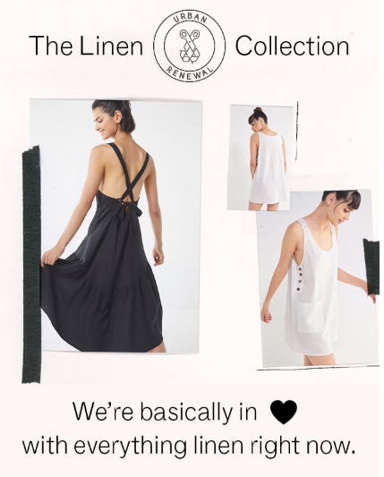 The Linen Collection from Urban Outfitters