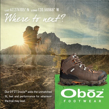 Oboz from Tradehome Shoes