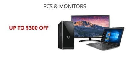 Up to $300 Off PCs & Monitors from Office Depot
