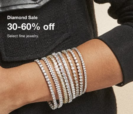 30-60% Off Select Fine Jewelry