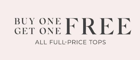 Buy One, Get One Free All Full-Price Tops from Lane Bryant