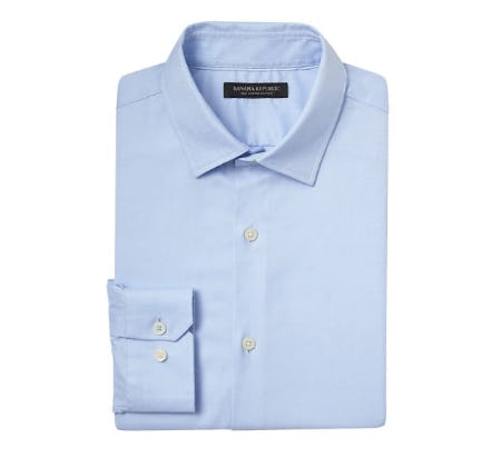 Grant Slim-Fit Supima Cotton Textured Shirt