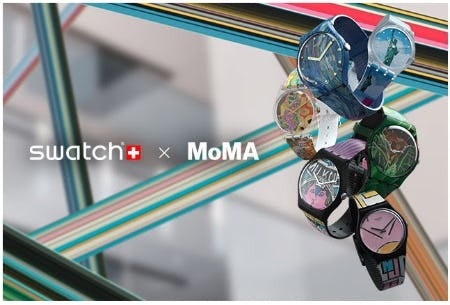 Swatch X MoMa from Swatch